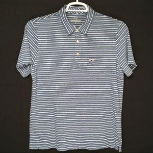Vineyard Vines mens linen cotton blend polo shirt